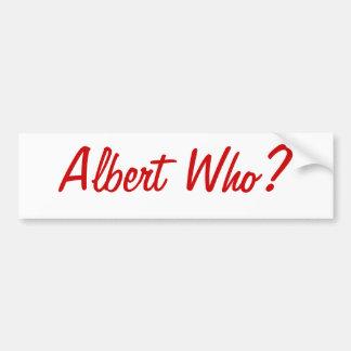 Albert wer? St.- LouisAutoaufkleber Autoaufkleber