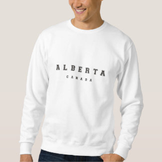 Alberta Kanada Sweatshirt