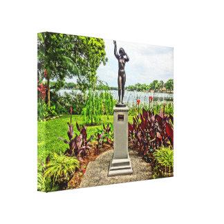 Albin Polasek Skulptur-Garten-Winter-Park FL Leinwanddruck