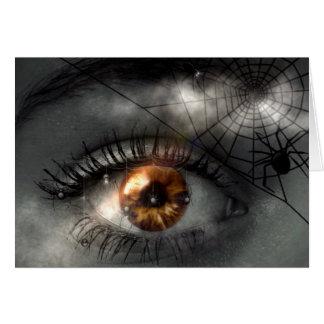 ALBTRAUM! (Auge - Spinne - Netz) ~ Karte