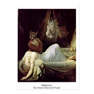 Albtraum durch Johann Heinrich Fuseli Postkarte
