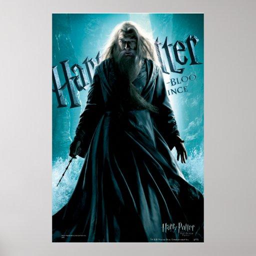 Albus Dumbledore HPE6 1 Poster