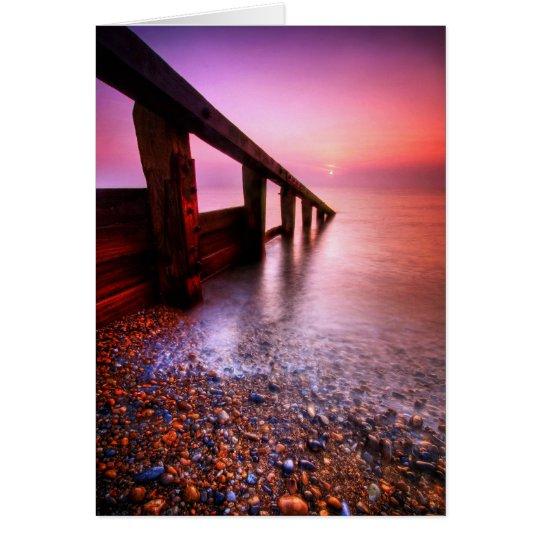 Aldeburgh Strand-Suffolk 6. - besonders Mitteilungskarte