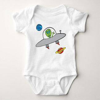 Alex das alien - Baby-Jersey-Bodysuit Baby Strampler