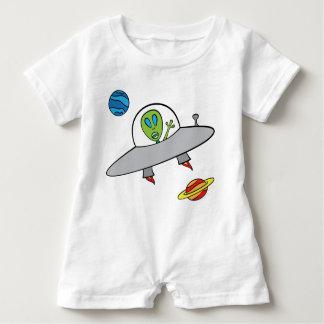 Alex das alien - Baby-Spielanzug Baby Strampler