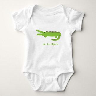 Alex der Alligator Baby Strampler