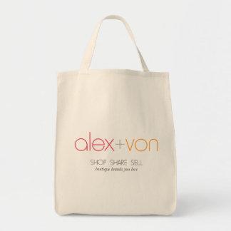 Alex+Lebensmittelgeschäft-Tasche von Canvas