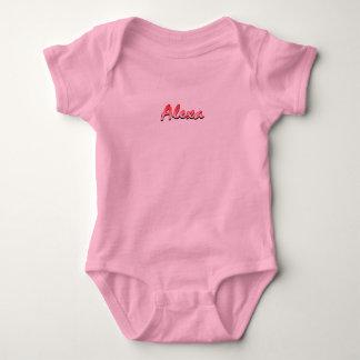 Alexa Baby-Jersey-Bodysuit Baby Strampler