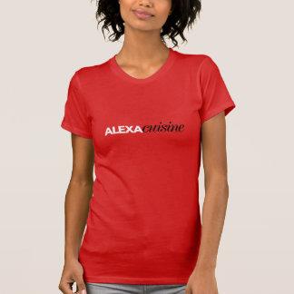 Alexa Cuisine-Rosa-Crew-Shirt T-Shirt