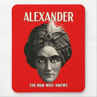 Alexander - der Mann, der weiß Mauspad