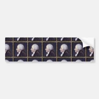 Alexander Hamilton-Entwürfe Autoaufkleber