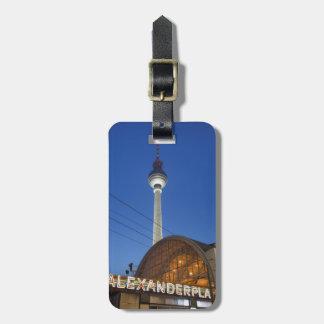 Alexanderplatz Kofferanhänger
