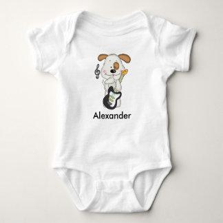 Alexanders Rock-and-Rollwelpe Baby Strampler