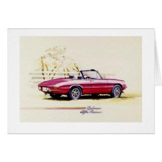 Alfa Romeo Karte