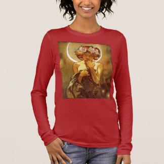 Alfons Mucha: Luna Langarm T-Shirt