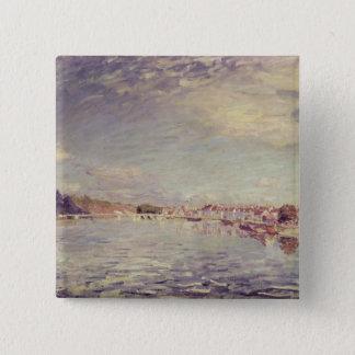 Alfred Sisley | Heiliges-Mammes Quadratischer Button 5,1 Cm