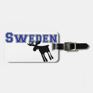 Älg / Moose, Sweden Kofferanhänger