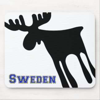 Älg / Moose, Sweden Mousepad