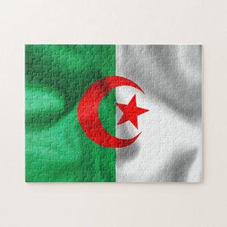 Algerien-Flaggen-Puzzle