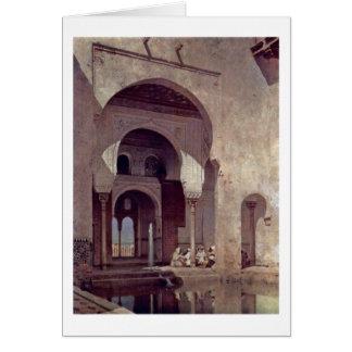 Alhambra durch Adolf Seel Karte