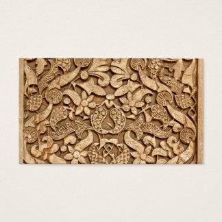 Alhambra-Muster Visitenkarte