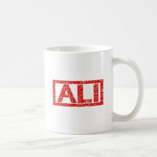 Ali-Briefmarke Kaffeetasse