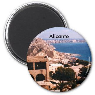 Alicante Runder Magnet 5,1 Cm