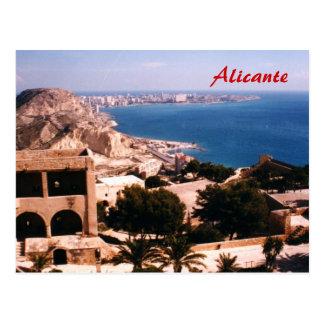 Alicante Postkarte