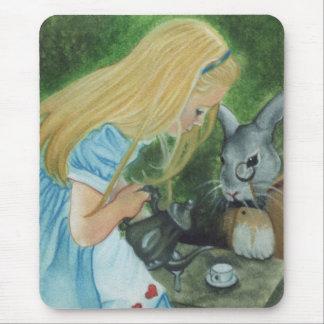 Alice au pays des merveilles Mousepad Tapis De Souris