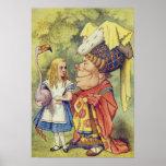 Alice avec la duchesse affiches