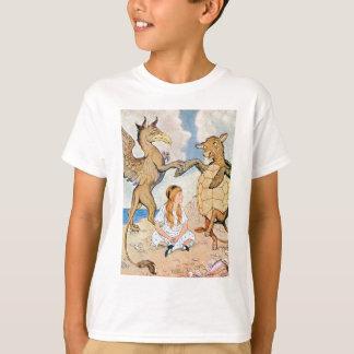 Alice, das Griifin und die Scheinschildkröte T-Shirt