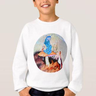 Alice ersucht um Rat von einer Raupe Sweatshirt