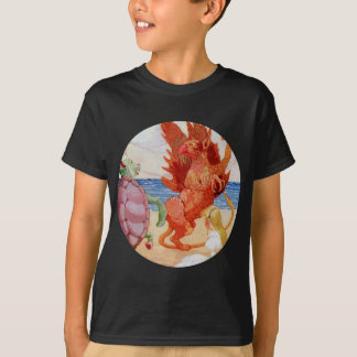 Alice hört zum Greif und zur Scheinschildkröte T-Shirt