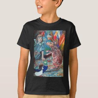 Alice hört zur Geschichte der Maus T-Shirt