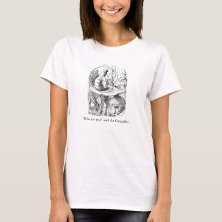 Alice im Wunderland Absolem Illustrations-T - T-Shirt