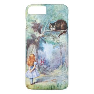 Alice im Wunderland-Cheshire-Katze iPhone 6 Plus iPhone 8 Plus/7 Plus Hülle