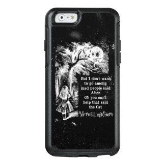 Alice im Wunderland; Cheshire-Katze mit Alice OtterBox iPhone 6/6s Hülle