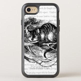 Alice im Wunderland  +{{Cheshire-Katze}}+ OtterBox Symmetry iPhone 8/7 Hülle
