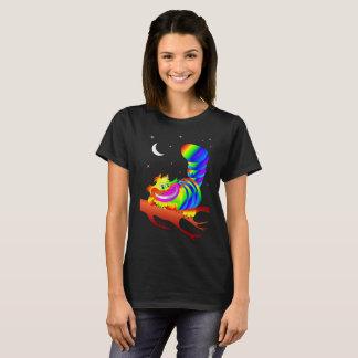 Alice im Wunderland-Cheshire-Katzen-Entwurf T-Shirt