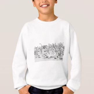 Alice im Wunderland durch Lewis Carroll Sweatshirt