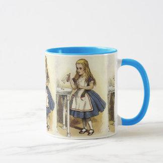 Alice im Wunderland-Kaffee-Tasse Tasse