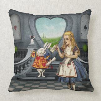 Alice im Wunderland-Kissen Kissen