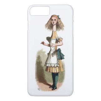 Alice im Wunderland neugierigere iPhone 7 Plusfall iPhone 8 Plus/7 Plus Hülle