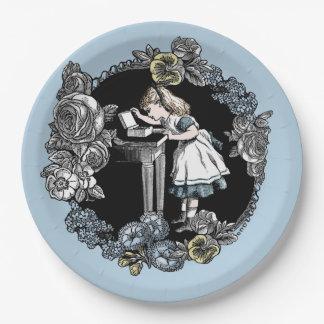 Alice im Wunderland-Papierplatte Pappteller