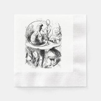 Alice im Wunderland RaupeHookahserviette Papierserviette