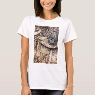 Alice im Wunderland-Raupen-T - Shirt