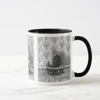 Alice im Wunderland-Tassen-wütende Tasse