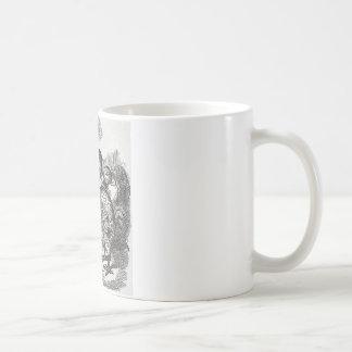 Alice im Wunderland und das Gryphon Kaffeetasse