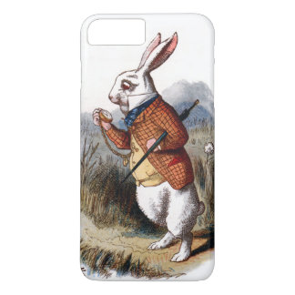 Alice im Wunderland-weißes Kaninchen iPhone 7 Plus iPhone 8 Plus/7 Plus Hülle