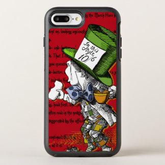 Alice im Wunderland-wütender Hutmacher OtterBox Symmetry iPhone 8 Plus/7 Plus Hülle
